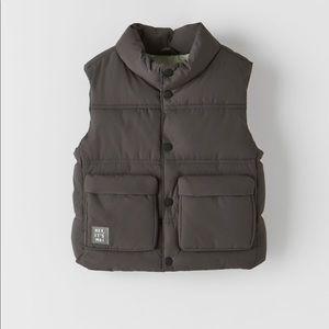 • Zara • Technical Padded Vest